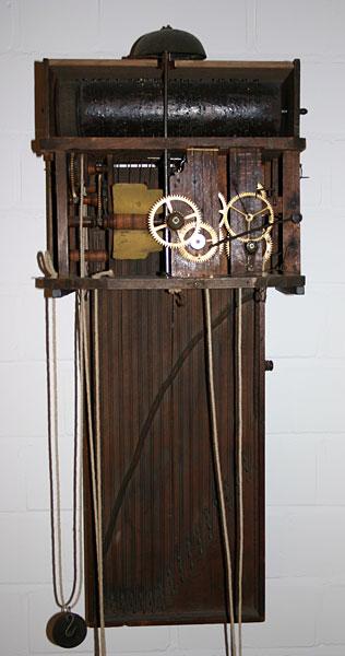 Hackbrettuhr - Antike Uhren Dötsch
